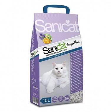 Наполнитель Sanicat Professional Super Plus впитывающий 10 л.