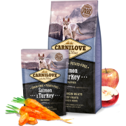 Carnilove Salmon & Turkey for puppies 1-12 MONTHS