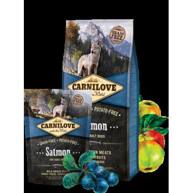 Carnilove Salmon for Adult беззерновой для взрослых собак всех пород, лосось