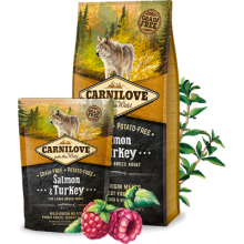 Carnilove Salmon & Turkey FOR LARGE BREED ADULT ≥ 25 KG