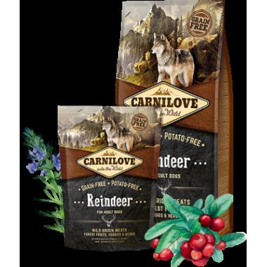 Carnilove Reindeer for Adult беззерновой для взрослых собак всех пород,северный олень