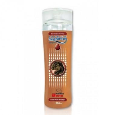 Шампунь для собак Super Beno Premium для темной шерсти, 200 мл